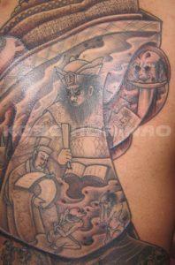 地獄太夫の刺青、和彫り(Japanese Tattoo)画像