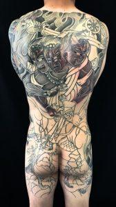 金剛夜叉明王の刺青、和彫り(Japanese Tattoo)の画像です。
