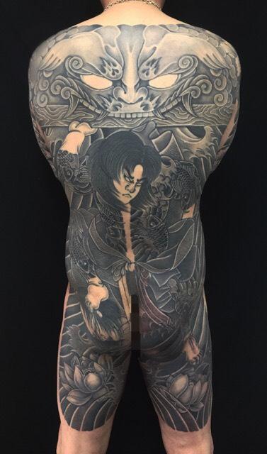 張順水門破りの刺青、和彫り(Japanese Tattoo)の画像です。