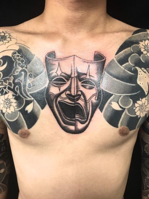 トゥーフェイスのワンポイントTattoo(タトゥー)の画像