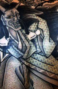 清姫の刺青、和彫り(Japanese Tattoo)画像
