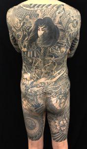 九紋龍史進と龍の刺青、和彫り(Japanese Tattoo)の画像です。
